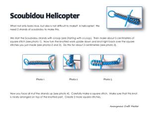 Scoubidou Helicopter